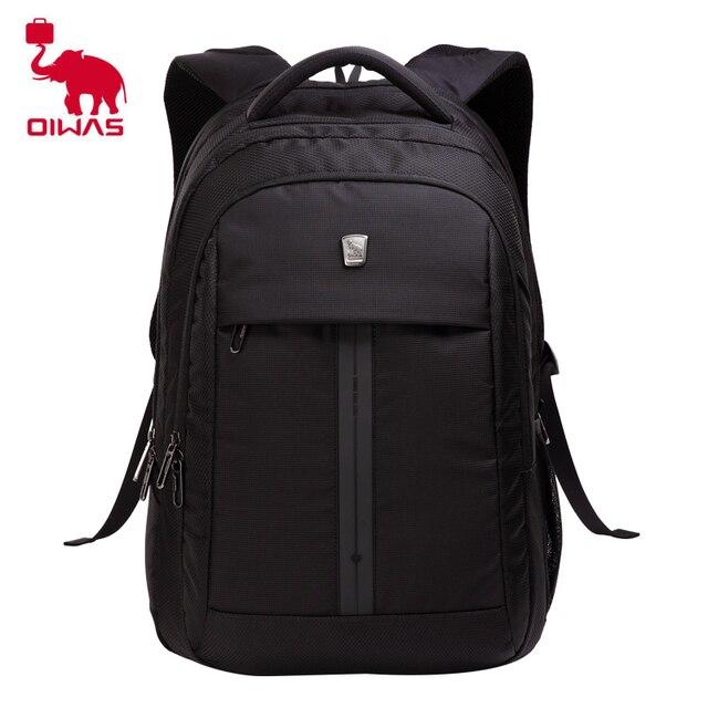32843cc507 Oiwas Multifunctional Business Style Men Women Backpack Professional 15  Inch Notebook Computer Bag Schook Rucksack Black OCB4148