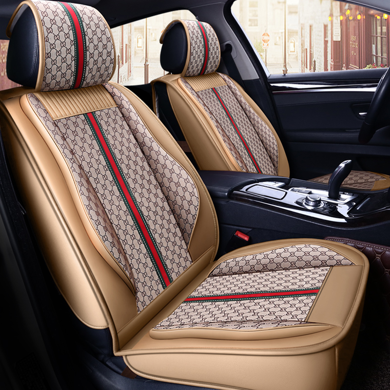 New Sport Customization Car Seat Cover General Cushion Car pad Car Styling For BMW Audi Honda CRV Ford Nissan All cars customization car seat cover general cushion artificial leather car pad car styling for volkswagen beetle cc eos golf jetta pass
