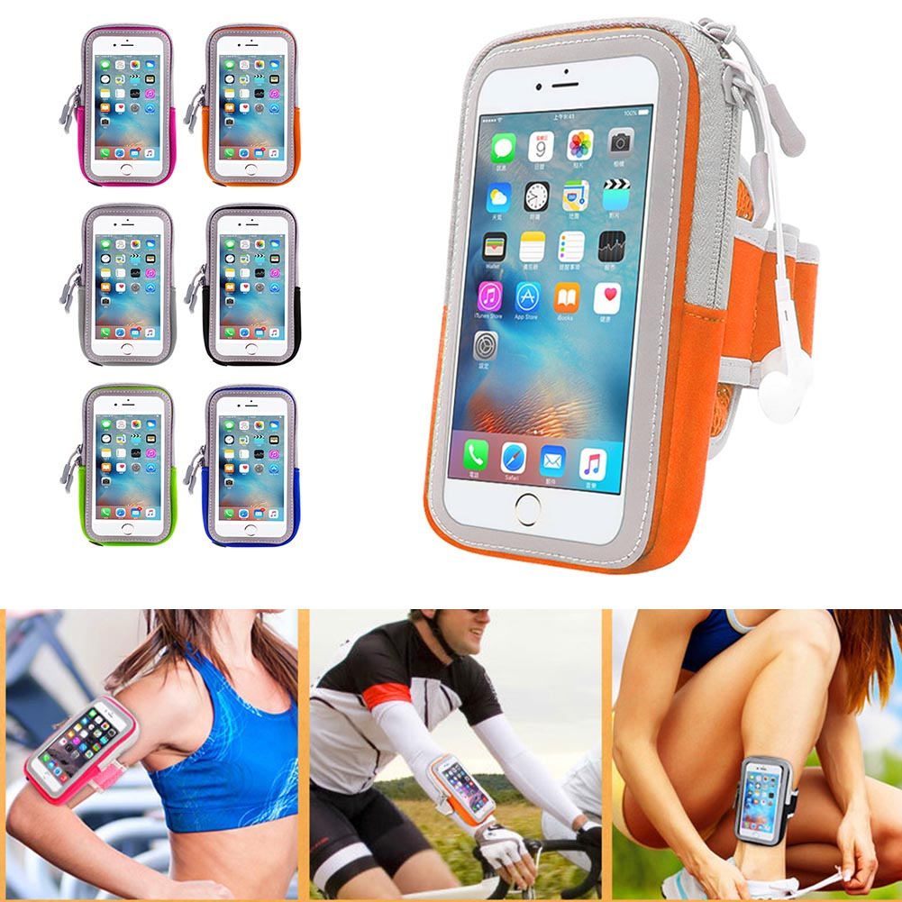 Phone Case Sport Armband Belt Cover Running Gym Bag Touchscreen Pouch For Iphone 8/x Samsung Huawei Jlrl88 Cellphones & Telecommunications Mobile Phone Accessories
