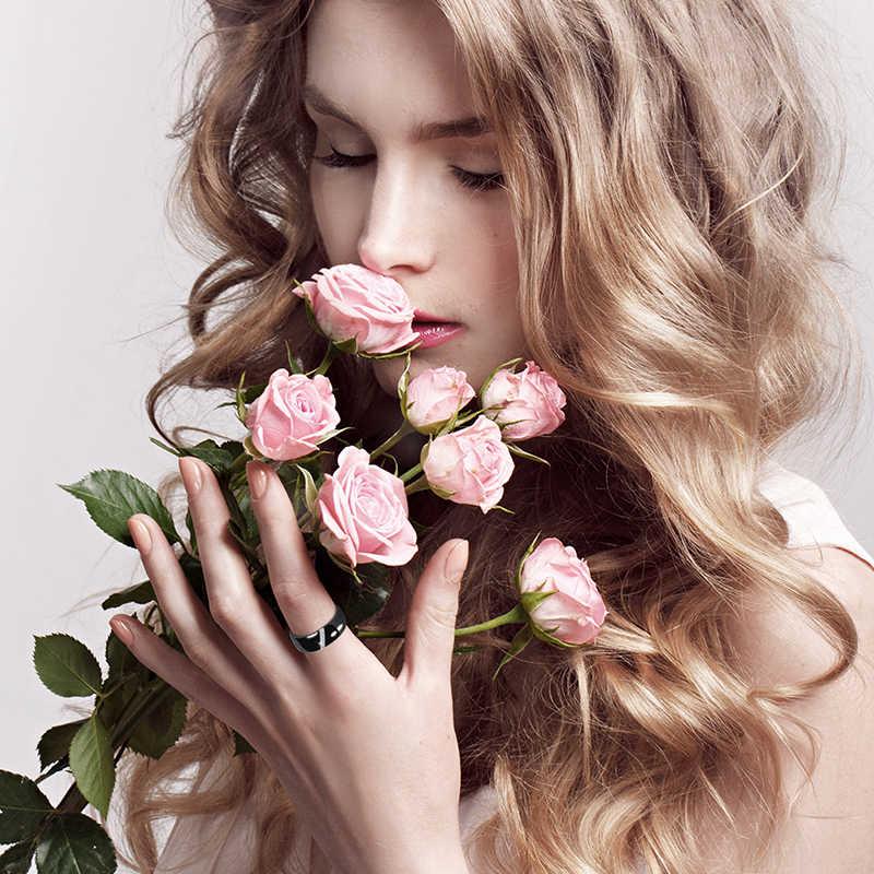 Новинка 2019, 6 мм, 8 мм, черный, белый, розовый, один слэш, керамика со стразами, кольцо для женщин, обручальное кольцо для помолвки, подарки для матери, ювелирные изделия