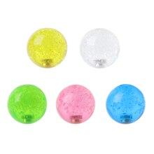 1 шт. 4 см Кристалл рокер шаровая Головка аркадная игра машина джойстик ручка Топ мяч для Sanwa Zippy
