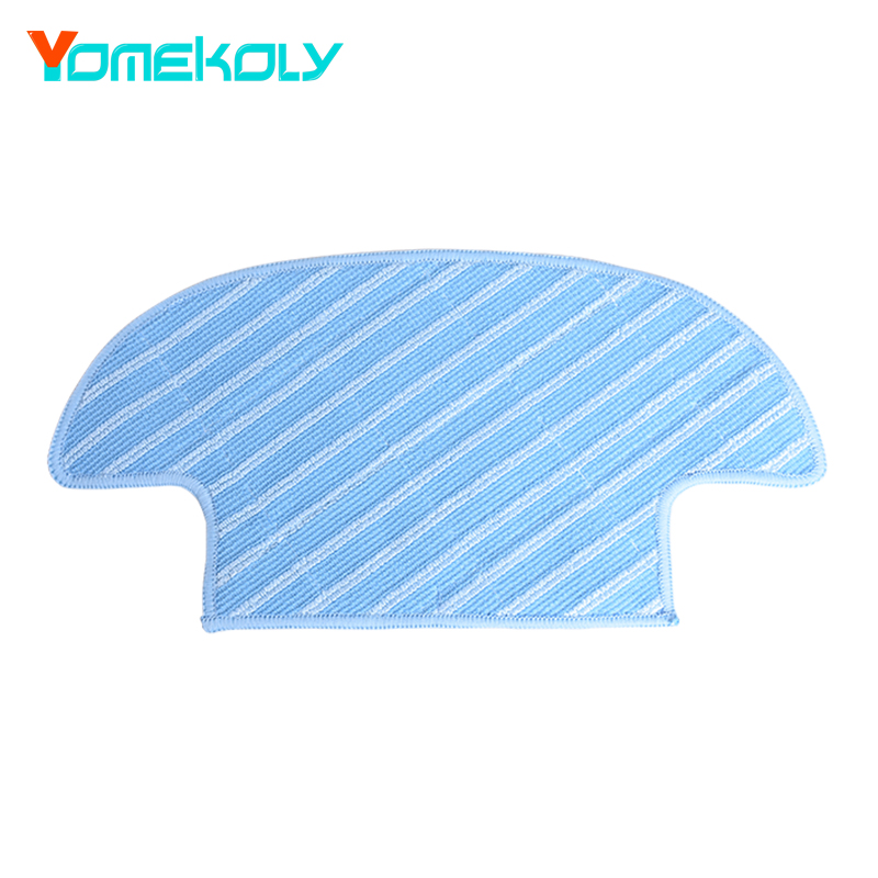 1PC Wet Dry Microfiber Mop Pad for Ecovacs Deebot D36A D36C DA611 DB35 TEK TCR-S TCR-S2 M1 Mopping Cloth Vacuum Cleaner Parts цена
