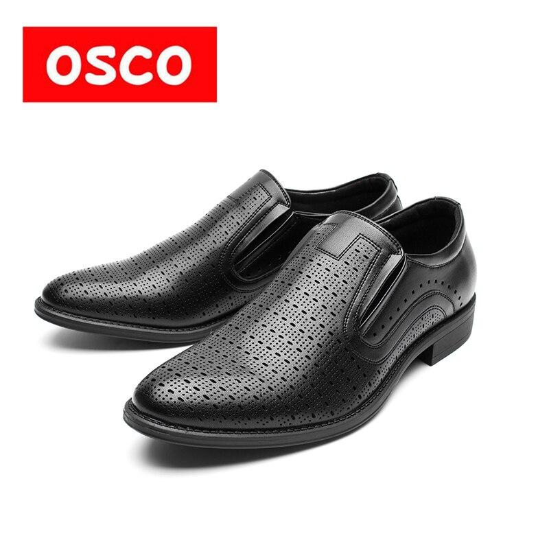 Оско фабрики всесезонные Новая мужская обувь модные Для мужчин дышащая обувь без шнуровки Мужская обувь # RU0028/995705 P/995702P-1