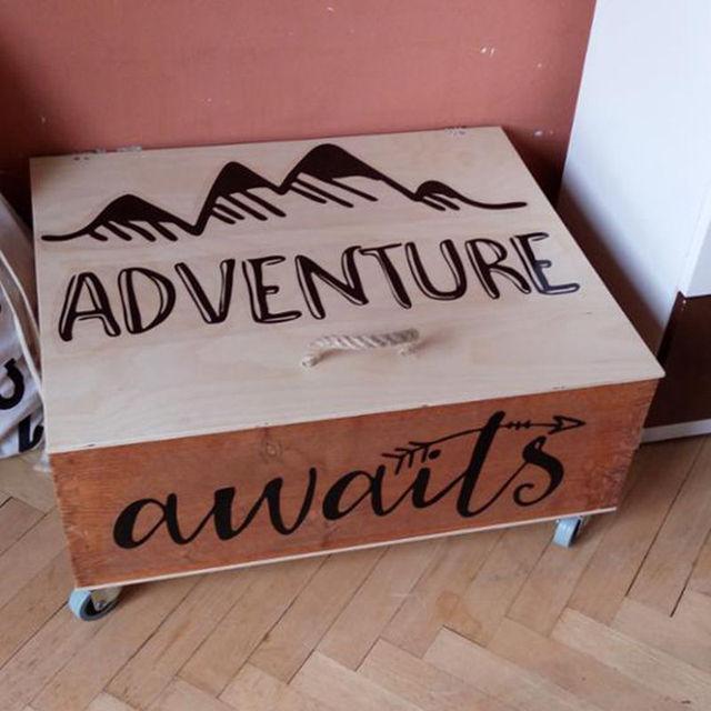 Adventure Awaits Wall Decal