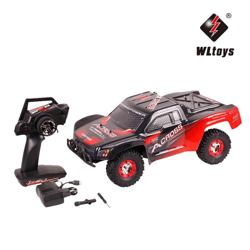WLtoys 12423 RC voiture 1/12 2.4Gz haute vitesse 50 KM/H 4WD télécommande voiture étanche escalade voiture tout-terrain véhicule