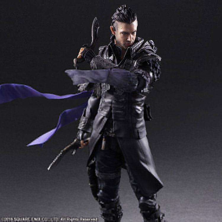 Final Fantasy Nyx Ulric Play Arts Kai Figure 26cm PVC Action Figure Final Fantasy VII Squall Play Arts Kai Doll Toys play arts final fantasy figure final fantasy vii sephiroth figure pa play arts kai cloud strife 27cm pvc action figure doll toys