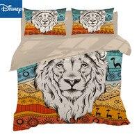 white Lion 3Piece au queen size Bedding Set Duvet Cover 3D Bed Set Animal Bedclothes Hot Sale 3D Bed Cover Pillow case