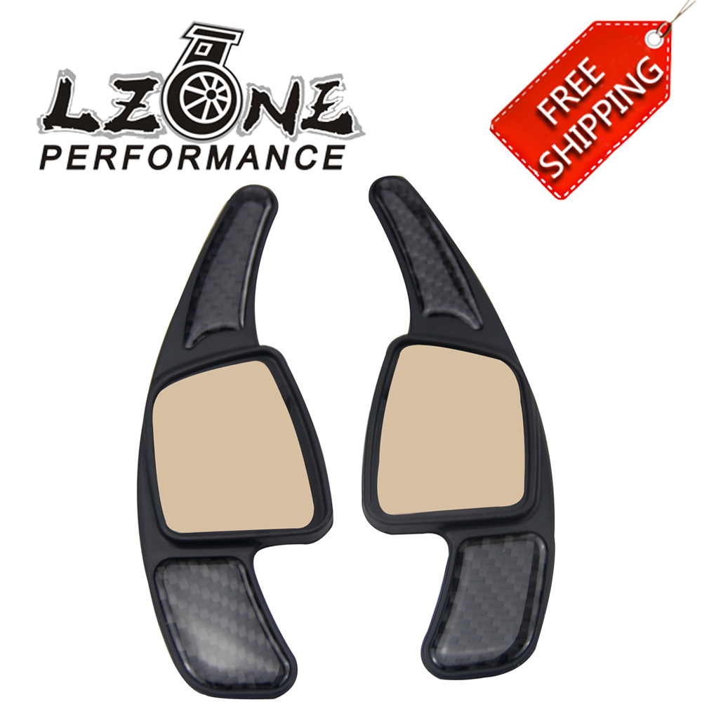 LZONE RACING - FREE SHIPPING Car Steering Wheel Paddle Shift Paddle Shifters for Audi A4 A5 S3 S5 S6 SQ5 RS3 RS6 RS7 Q7 JR-PSD04