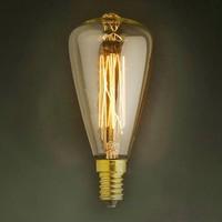 LightInBox Fixtures Glass LED Edison Bulb 40W 220V Pendant Lamps ST48 Vintage Retro E14 Incandescent Light Lamp Bulb
