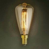 LightInBox Fixtures Glass LED Edison Bulb 40W 220V Pendant Lamps ST48 Vintage Retro E14 Incandescent Light Lamp Bulb