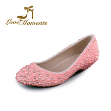 Pink wedding shoes low heel online shopping-the world largest pink