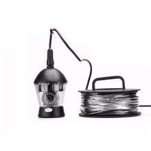 100 м кабель 360 Вращение подводная камера для рыбалки с дистанционным управлением светодиодный фонарь рыболовная камера водонепроницаемая камера видеонаблюдения