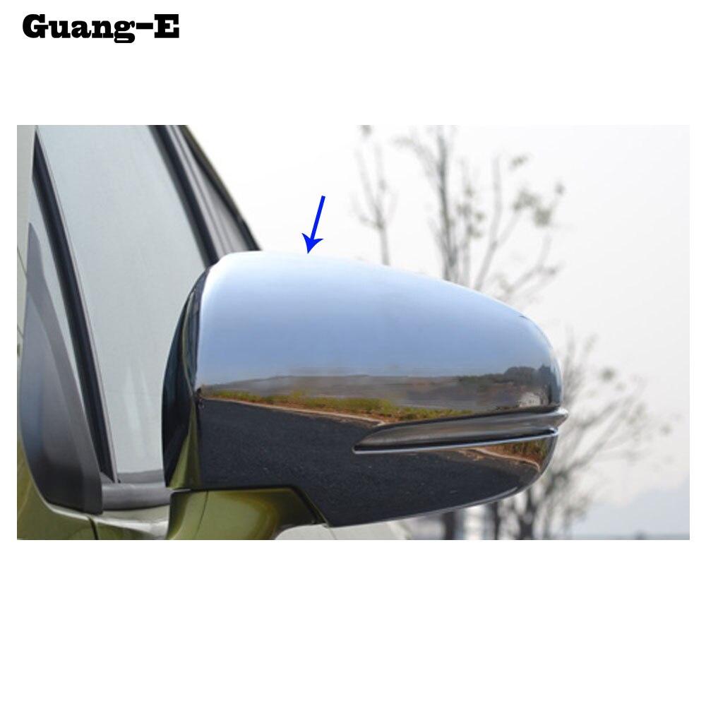 For Suzuki SX4 s-cross 2014-2017 Side Door Rearview Mirror Eyebrow Cover Trim