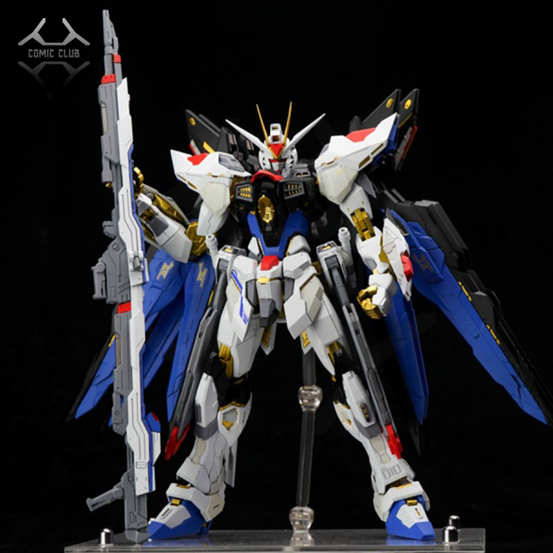 US $50 0 |COMIC CLUB INSTOCK DABAN GUNDAM SEED Destiny Model Assembly  version Metal Build MB strike freedom GUNDAM toy action figure-in Action &  Toy