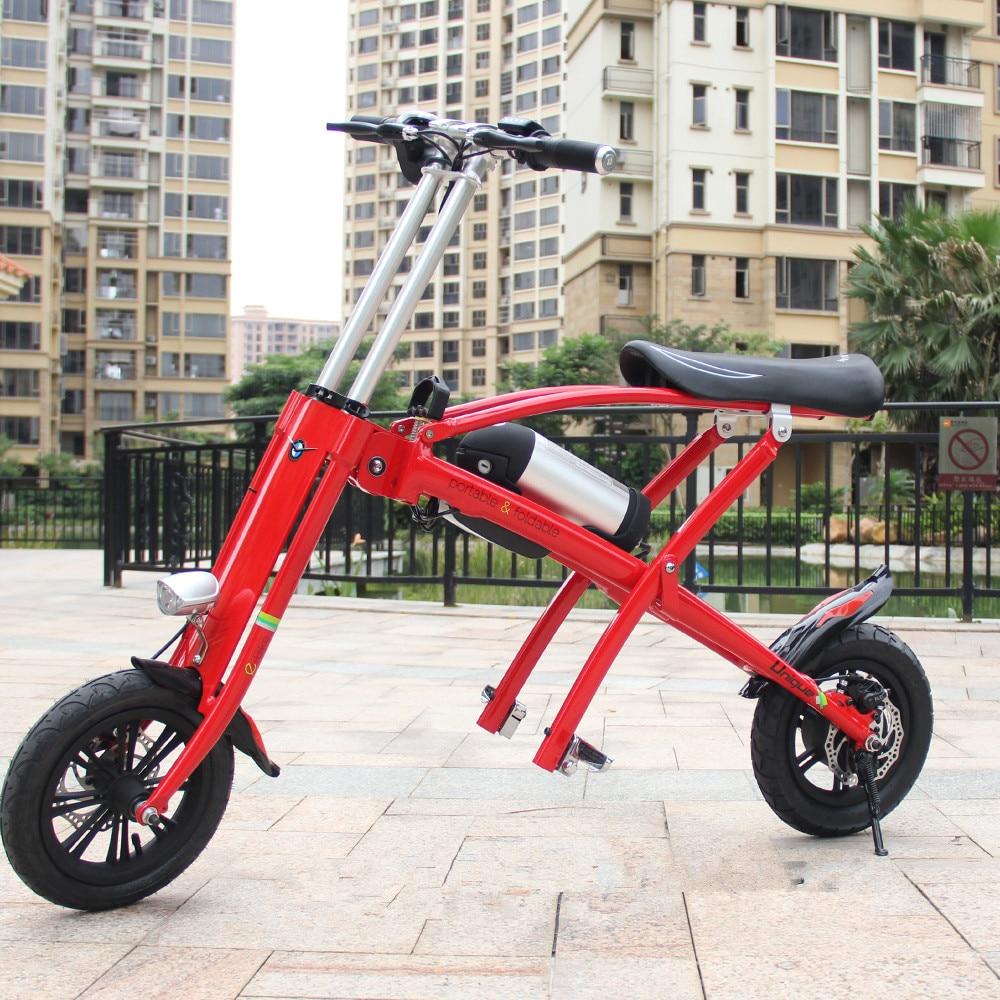 Adulte Pliage Génération Conduite Scooter Électrique avec Batterie Au Lithium
