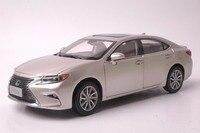 1:18 литья под давлением модели для Lexus ES 300 h 2015 Золотой седан Игрушечная машина из сплава миниатюрный коллекция подарок ES300h ES300 Toyota