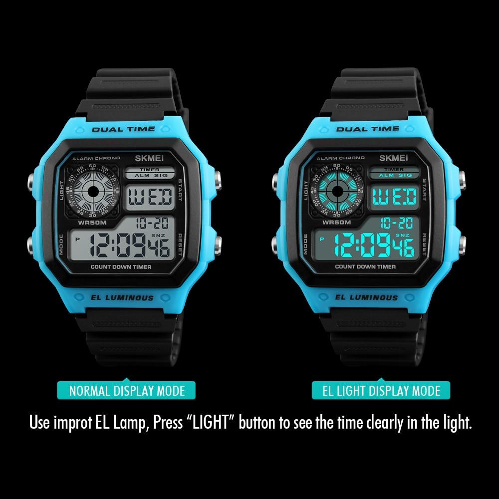 Skmei Sports Watch Men Top Brand Luxury Famous Led Digital Watches Male Clocks Men's Watch Relojes Deportivos Herren Uhren #3
