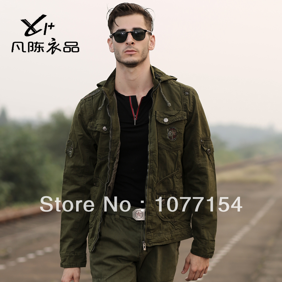 Mens Army Green Jacket - Fashion Ideas