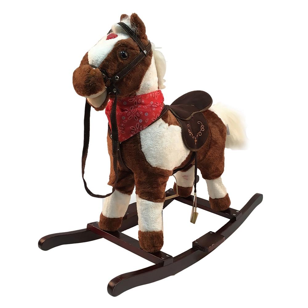 лошадка-качалка baby