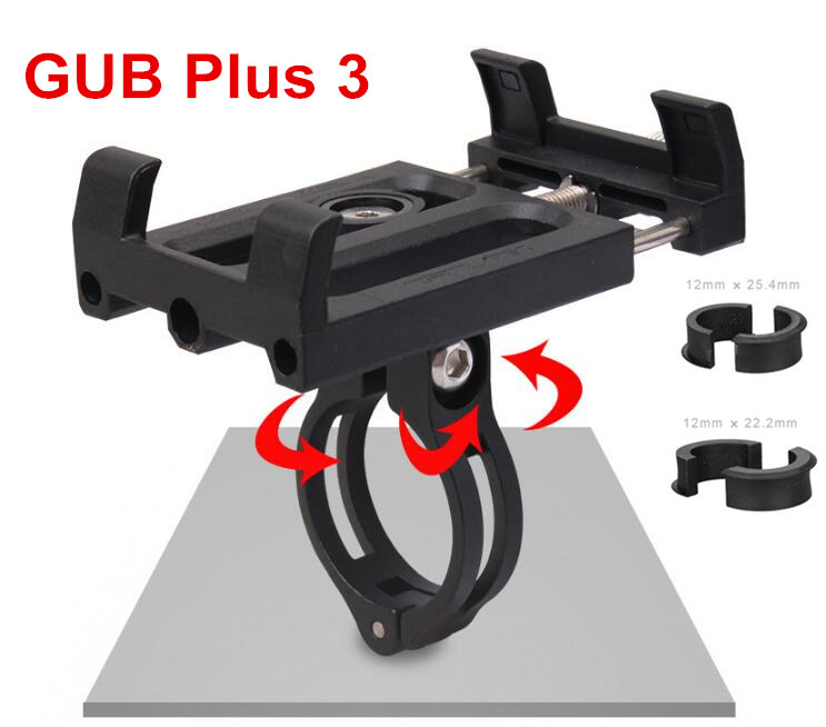 GUB bike moiblephone holder mount bracket G83 G84 smartphone aluminum tight metal MTB bicycle for <font><b>samsung</b></font> huawei xiaomi iphone image