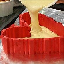 Silicone cake mold Bake Snake multi pattern DIY jigsaw baking fun design modeling.