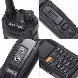 Image 3 - ABBREE AR F6 6 Bands Dual Display Dual Standby 999CH Multi functional VOX DTMF SOS LCD Color Display Walkie Talkie Ham Radio