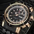 2017 New Brand Naviforce Men Sports Watches Men's Quartz Hour Date Clock Stainless Steel Military Army Waterproof Wrist watch