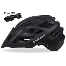 MOON велосипедный шлем TRAIL XC велосипедный шлем в форме MTB велосипедный шлем шоссейные горные шлемы безопасности Размер M/L