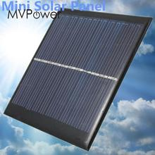1W 6V Mini Solar Power Panel Solar System DIY For Light Cell Phone Toys Chargers Portable Drop Shipping HIgh Quality DIY