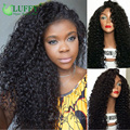 Kinky Curly Malaysian Lace Frontal Wig With Baby Hairs 13x6 Lace Frontal Best Human Curly Deep Part Lace Front Wigs Virgin Hair