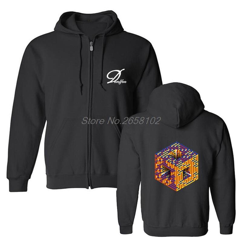Cheap Sale Geek Rubiks Cube Maze 3d Print Men Hoodie Gift Casual Cotton Coat Sweatshirt Boyfriends Cool Geometric Tops Streetwear Top Watermelons Men's Clothing