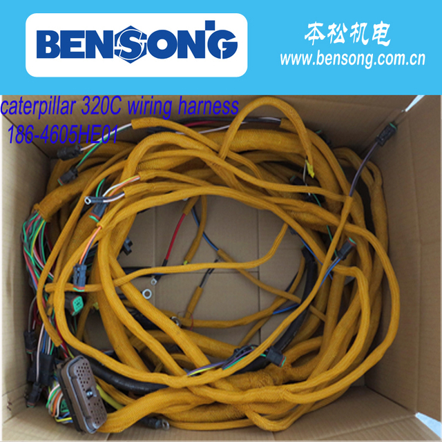 186 4605he01 wiring harness for cat 320c engine in wiring harness rh aliexpress com caterpillar 3126 wiring harness caterpillar wiring harness 216-8806