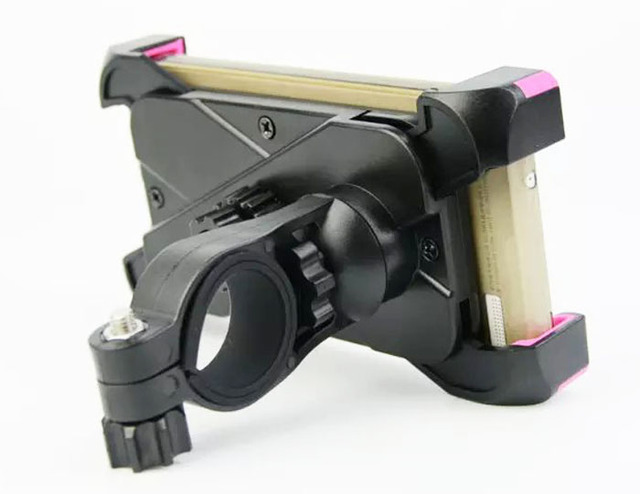 Adjustable Mobile CELL PHONE HOLDER Bike Bicycle Handlebar Mount Stands For Lenovo Zuk Z1,Vibe P1,Vibe S1,Vibe X3 c78,K5 Note