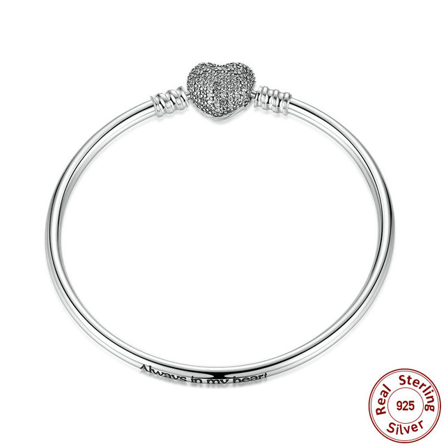 3 Style 925 Sterling Silver Snake Chain for DIY Charms Bracelet Women Pure Silver Bracelet Fashion Jewelry PAS905