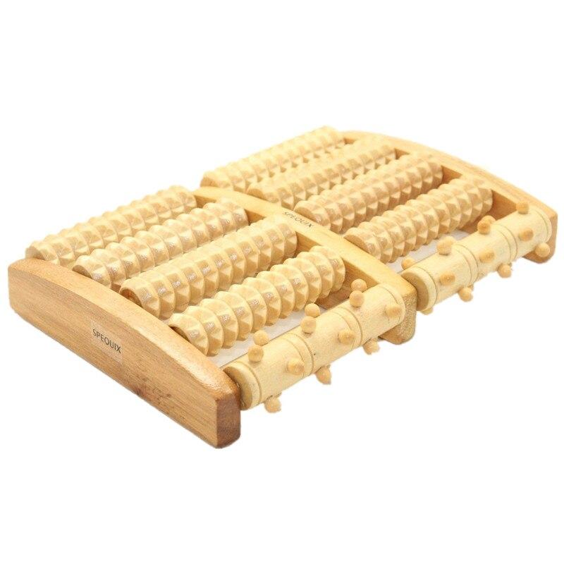 Wooden Foot Massage Roller Massage Feet  Plantar Fasciitis Roller Reflexology пуф wooden круглый белый