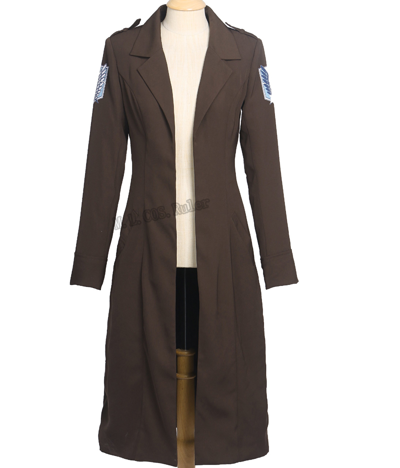 Attack On Titan Shingeki no Kyojin Cosplay Costume Cloak  Coat