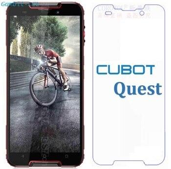 Перейти на Алиэкспресс и купить 2.5D 9H Оригинальное Премиум Закаленное стекло для Cubot Quest 5,5 дюймЗащита экрана Закаленное стекло Защитная пленка чехол