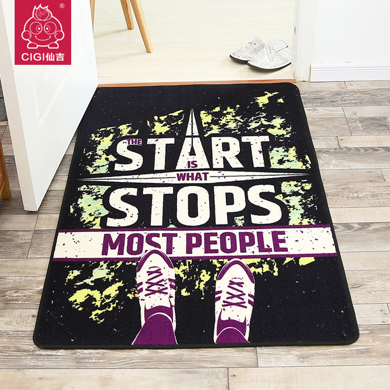 Cigi Neue Moderne Kreative Hauptlieferung Carpet Wohnzimmer Tisch Sofa Decke Bodenmatte Kche Anti Skid Mat Eingang