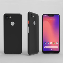 Google Pixel için 3XL KıLıFı Piksel 3 XL Kılıf Ile Koruyucu kabuk Yumuşak PP Ultra ince Telefon arka kapak Coque