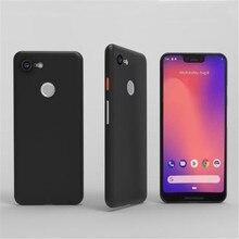 Google pixel 3xl 케이스 픽셀 3 xl 케이스 보호대 쉘 소프트 pp 초박형 전화 뒷면 커버 coque