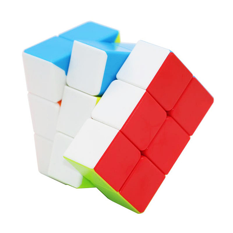 Fanxin 2x3x3 Speed Cube Stickerless Smooth 233 Magic Cubes Profession Puzzle Cube For Children Cube Toys