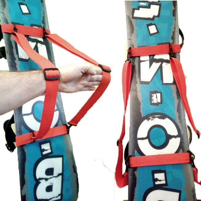 IGOSKI Ski Snowboarding Skate Bag Carry Snowboard On Your Shoulder