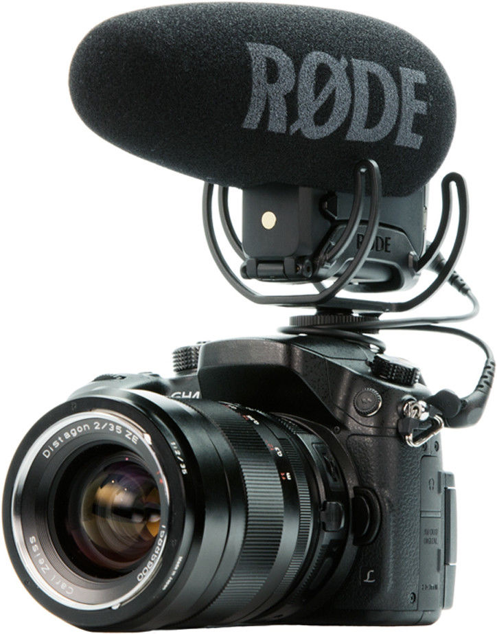 Rode VideoMic Pro plus Shot gun interview video camera Microphone Rycote Lyre for canon Panasonic camera