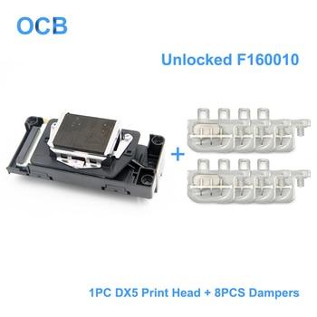 New F160010 Unlocked Printhead DX5 Print Head For Epson 7800 7880 9800 9880 4400 4800 4880 9400 R1800 R1900 R2000 R2400
