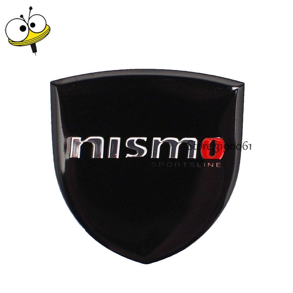 Car Styling Metal Auto Car Sticker Emblem Badge Decal For Nismo Logo For Nissan Qashqai Tiida Teana Almera Sylphy Leaf Note Juke