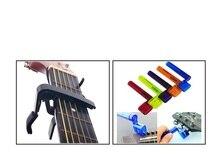 NEUE hochwertige Klassische Folk Elektro-akustik Tune Quick Change Trigger-gitarre Capo & Gitarre Saitenkurbel Peg Brücke Pin werkzeug