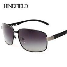 HINDFIELD Aluminum Magnesium sport sunglasses men polarized uv400 Brand Design Outdoor Sun glasses Male gafas de sol hombre