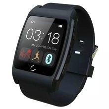 Uwatch UX Sport Bluetooth Pulsmesser Smart Uhr für IPhone ISO Android Mit Kompass Schrittzähler Verbunden Smartwatch