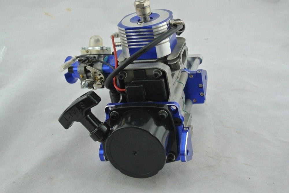 🛒 NEW Super 26cc 2 Stroke RC Petrol Marine Gas Engine Motor for