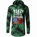 Yeezy Hoodies Men 3D Letter Printed Pullover Male Long Sleeve Hooded Tee Tops Man Brand Clothing Hip Hop Sportmen Sweatshirt z10
